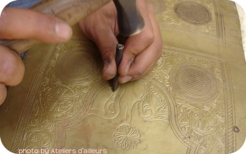 Stage dinanderie : dessins traditionnels  zouak