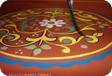 Stage Peinture Sur Bois Traditionnelle