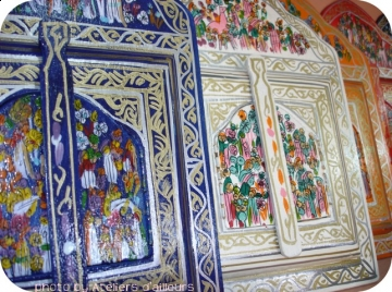 Stage peinture sur bois traditionnelle - Peinture acrylique sur bois ...
